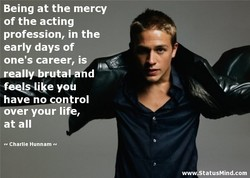 Being at the mercy 