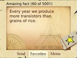 Amazing fact (60 of 5001 ) 