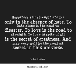 Happinegg and Strength endure 