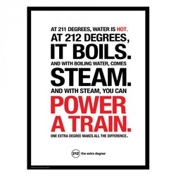 AT 211 DEGREES, WATER IS 