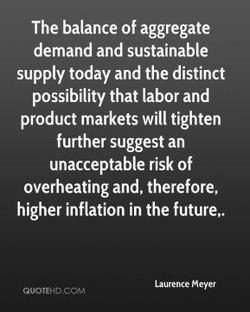 The balance of aggregate 
