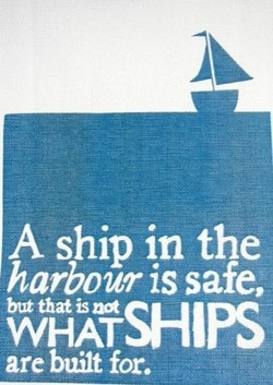 A ship in the 