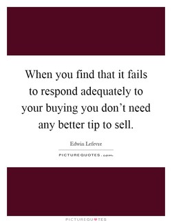 When you find that it fails 