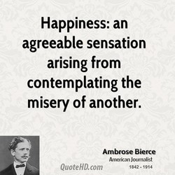 Happiness: an 