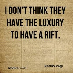 I DON'T THINK THEY 