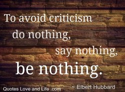 To avud@rfticism 