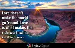 Love doesn't 