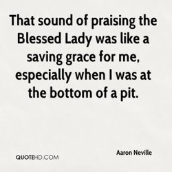 That sound of praising the 