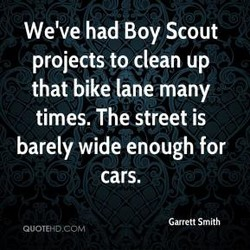 We've had Boy Scout 