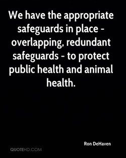 We have the appropriate 