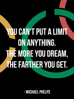 OU CAN'T PUT A LIMIT 