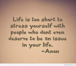 Life is too short to 