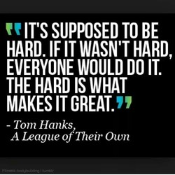 IT'S SUPPOSED TO BE 