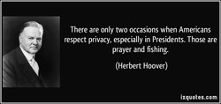 There are only two occasions when Americans 