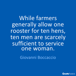 While farmers 