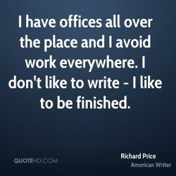 I have offices all over 