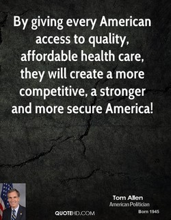 By giving every American 