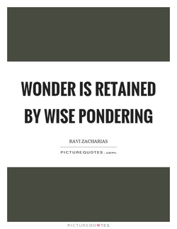 WONDER IS RETAINED 