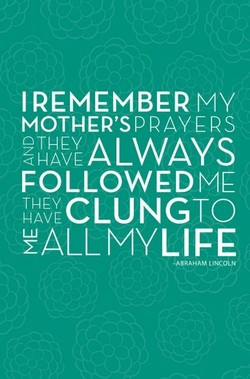 I REMEMBER MY 