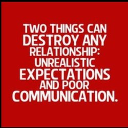 TWO THINGS CAN 