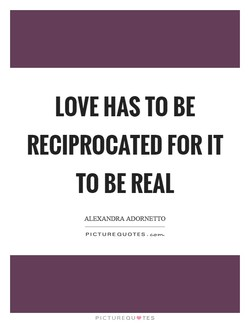 LOVE HAS TO BE 