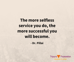 The more selfless 