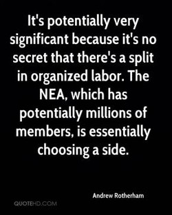 It's potentially very 