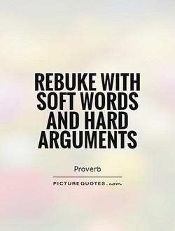 REBUKE WITH 