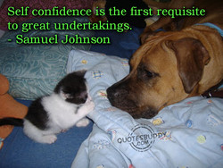 Self confidence is the first requisite 