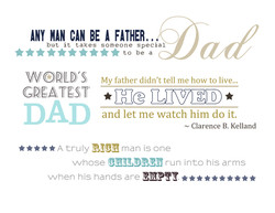 ANY CAN BE A FATHER.. 