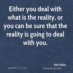 Either you deal with 