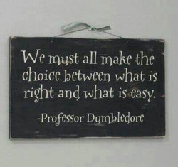 We must all make the 