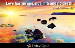 Love has no age,nlimit; and o eath.- 