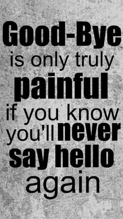 Good-Bye 