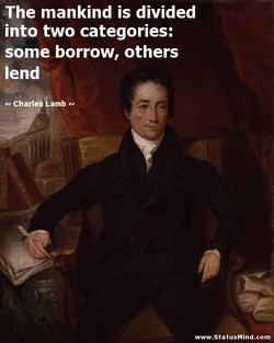 The mankind is divided 