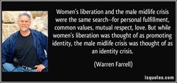 Women's liberation and the male midlife crisis 