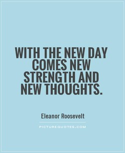 WITH THE NEW DAY 