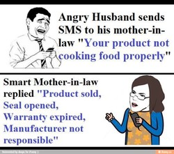 Angry Husband sends 