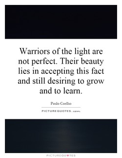 Warriors of the light are 