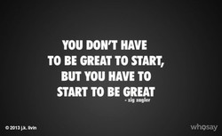 YOU DON'T HAVE 