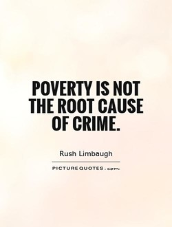 POVERTY IS NOT 