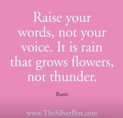 Raise your 