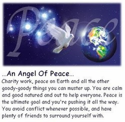 .An Angel Of Peace. 