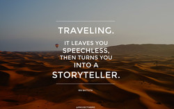 TRAVELING. 
