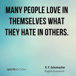 MANY PEOPLE LOVE IN 