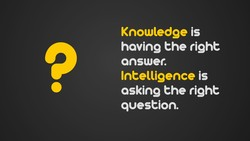Knowledge is 