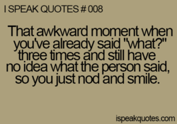 I SPEAK QUOTES # 008 