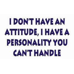 I DONT HAVE AN 
