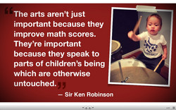 The arts aren't just 