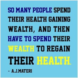 SO MANY PEOPLE SPEND 